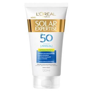 Protetor solar loreal supreme FPS 50 120ml | R$ 4,11