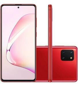(Ame R$1544) Samsung galaxy note 10 lite red