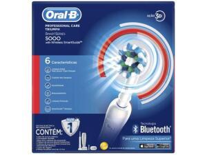 [R$259,90 Magalu Pay] Escova de Dente Elétrica - Oral-B Professional Care 5000