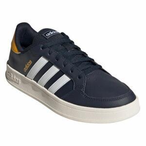 Tênis Adidas Breaknet Masculino - Marinho e Branco | R$140