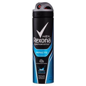 Desodorante Aerosol Rexona Men Impacto Masculino 150ml - 10 unidades por R$ 6,17 cada