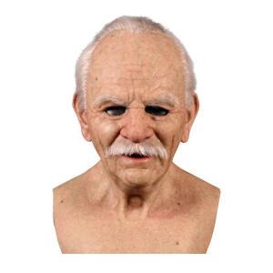 Máscara de Idoso Halloween | R$135
