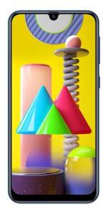 Samsung Galaxy M31 Dual SIM 128 GB azul 6 GB RAM | R$ 1400