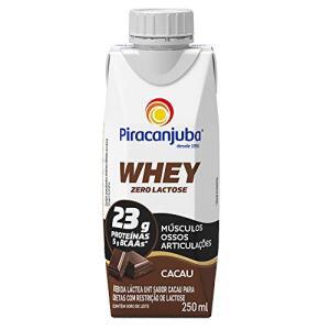 [PRIME] Leve 3 page 2 Whey Zero Lactose Sabor Cacau Piracanjuba 250ml (R$2,66 und)