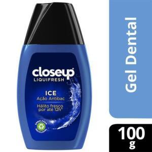 [LEVE 10un] Creme Dental em Creme Close-Up Liquifresh Ice 100g | R$15