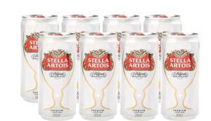 R$ 2,00 de volta - Cerveja Stella Artois - 8 unidades | R$ 19,52
