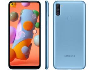 (Ouro/app/cupom) Smartphone Samsung Galaxy A11 64GB