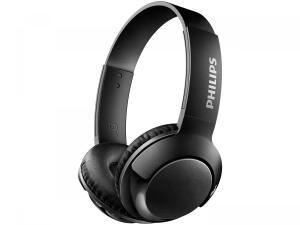 Headphone Bluetooth Philips Bass+ SHL3075WT/00 - com Microfone Preto | R$123