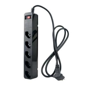 Filtro de linha Clamper iClamper Energia 5 Tomadas Preto, 010872 | R$55