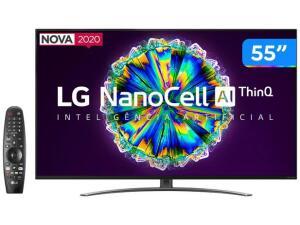 [Cliente Ouro] TV LG 55 Nano86sna - 120hz | R$3329