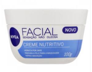 Creme Facial Nivea Nutritivo | R$22