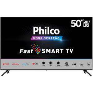 "[AME R$1795] Smart TV Philco 50"" PTV50G70SBLSG Ultra HD 4K Tela Infinita | R$1994"