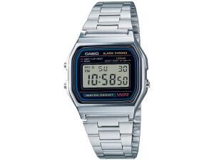 [Cliente OURO+CASH = R$104] Relógio CASIO Unissex A158WA-1DF
