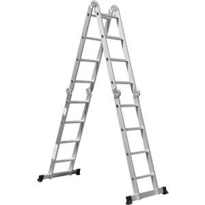 [C. Shoptime] Escada Multifuncional 4x4 16 Degraus - Mor   R$325