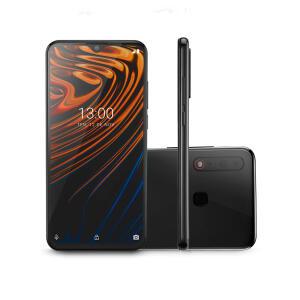 Smartphone Multilaser H 128 GB 6 GB RAM Android 9 - Preto | R$1189