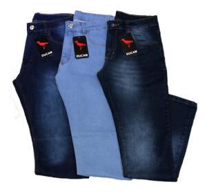 Kit 3 Calça Jeans Masculina Slim Original Elastano Lycra R$98