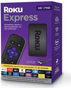 [PRIME] Roku Express - Streaming Player Full HD | R$239