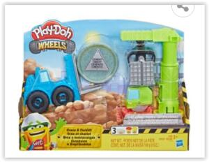Conjunto Play-Doh Hasbro Guindaste e Empilhadeira | R$ 42