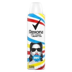 Desodorante Aerosol Feminino Rexona By Anitta Bang 150ml | Leve 3 pague 2 | R$6 cada