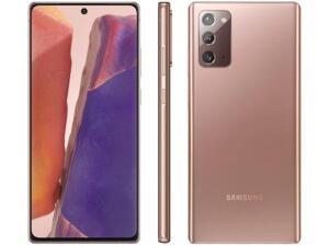 "[APP-Cliente Ouro] Galaxy Note 20 256GB Dual Chip 8GB RAM Tela 6,7"" 5G Bronze   R$3635"