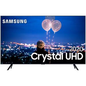 "Smart TV Crystal UHD 4K LED 50"" Samsung - 50TU8000 Wi-Fi Bluetooth   R$2013"