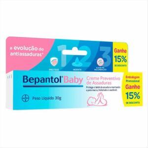 Bepantol Baby 30g | 2 unidades: R$8 cada