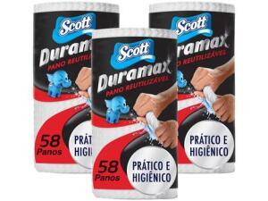 Kit Pano de limpeza Scott Duramax | R$27