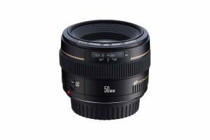 Lente Canon EF 50mm f/1.4 USM | R$893
