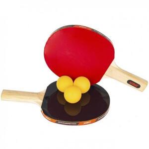Kit Tênis de Mesa Ping Pong Liveup com 2 Raquetes e 3 Bolinhas | R$17