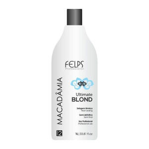 [C. Americanas] Felps Macadamia Blond Selagem Térmica 1 litro | R$57