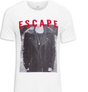 Camiseta Masculina Escape, Spirito Santo | R$35