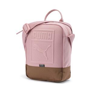 Bolsa Puma Portable Small Rosa e Marrom | R$ 74