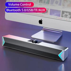 D6 2020 tv barra de som aux usb com fio e sem fio bluetooth R$117
