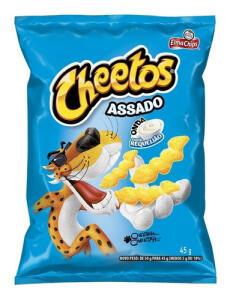 Salgadinho Sabor Requeijão Elma Chips Cheetos Onda 45g -R$ 1,99