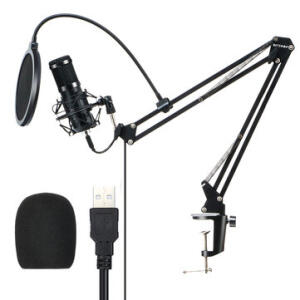 Microfone Condensador BlitzWolf® BW-CM2   R$256