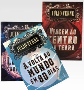 Kit 3 Livros   Júlio Verne   R$30