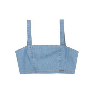 Top Hering Jeans Com Alças Largas Azul | R$20