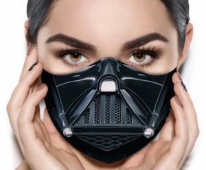 Máscara de Tecido Prime Personalizada Respirador Guerra nas Estrelas Reutilizável - R$14
