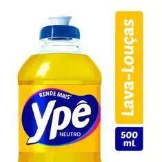 [SP] Detergente Líquido Ypê Neutro 500ml | R$1,29