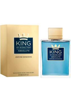 king of seduction absolute antonio banderas eau de toilette - perfume masculino 200ml