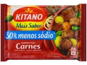 (Magalu Pay R$1,00) Tempero Carne Kitano Mais Sabor 60g R$3
