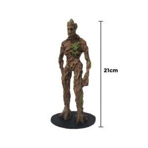 Groot Adulto Guardiões da Galáxia Resina 21cm | R$34