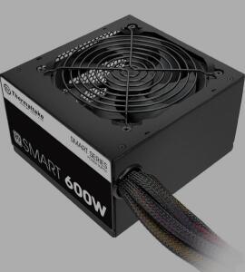 [PRIME] Fonte 600W, Thermaltake, PS-SPD-0600NPCWBZ-W | R$462
