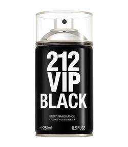 Body Spray 212 Vip Men Black 250ml R$102