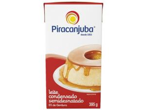 (Magalu Pay R$2,79) Leite condensado semidesnatado Piracanjuba 395g - R$3,49
