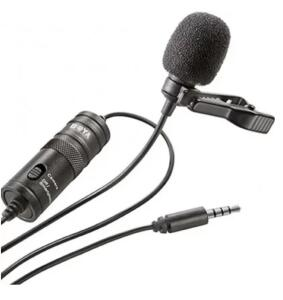 Microfone De Lapela Boya BY-M1 Preto | R$ 84