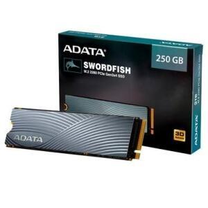 SSD Adata Swordfish, 250GB, M.2 PCIe, Leituras: 1800MB/s e Gravações: 900MB/s | R$251