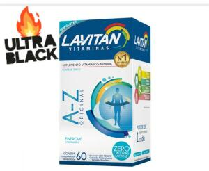 Multi vitamina- LAVITAN A-Z 60 Comprimidos | R$ 15