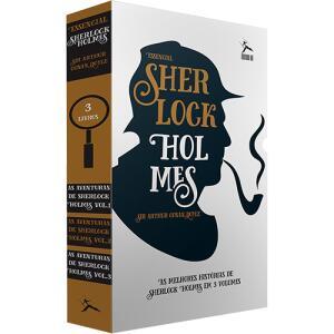 [APP] Livro - Box Sherlock Holmes: As Aventuras de Sherlock Holmes (3 Volumes) | R$18