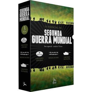 Box 3 Livros - O Essencial Da Segunda Guerra Mundial (3 Volumes) 1ª Ed Exclusivo | R$19